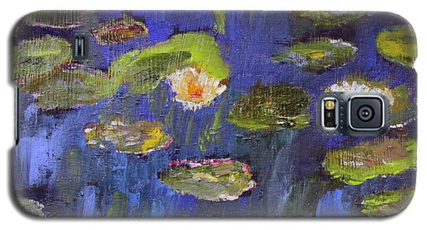 Galaxy S5 Case featuring the painting Tribute To Monet by Michael Helfen