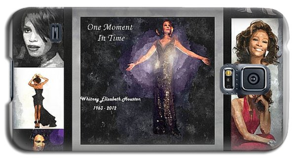 Tribute Whitney Houston One Moment In Time Galaxy S5 Case