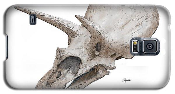 Triceratops Skull Galaxy S5 Case