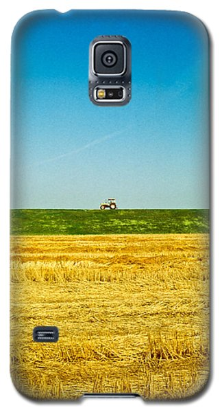Tricolor With Tractor Galaxy S5 Case