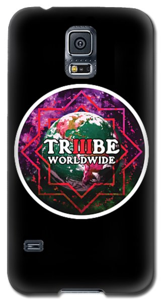 Galaxy S5 Case featuring the painting Triiibe Worldwide By Lorcan by Chief Hachibi