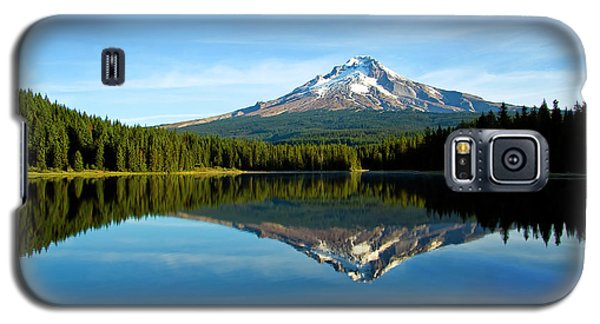 Trillium Lake Mt Hood Fall Galaxy S5 Case