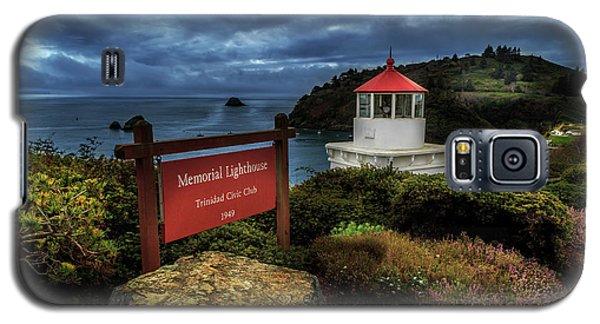 Trinidad Memorial Lighthouse Galaxy S5 Case by James Eddy