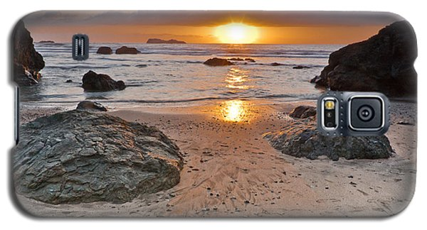 Trinidad State Beach Sunset Galaxy S5 Case by Greg Nyquist