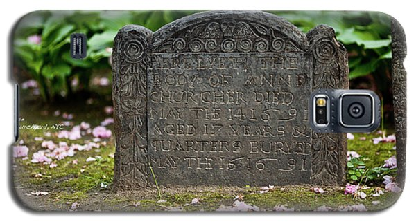 Trinity Church Tombstone Galaxy S5 Case
