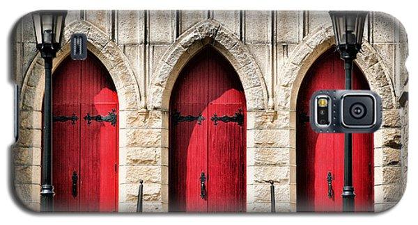 Trinity Lutheran Entrance Galaxy S5 Case by Lynne Jenkins