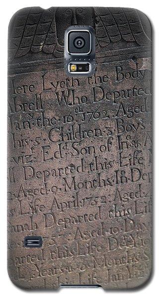 Trinity Tombstone Galaxy S5 Case