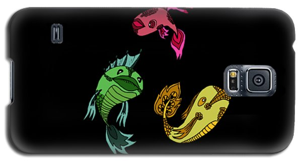 Trio Fish Galaxy S5 Case