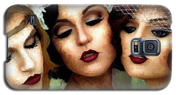 Trio Of Ladies Galaxy S5 Case by James Shepherd