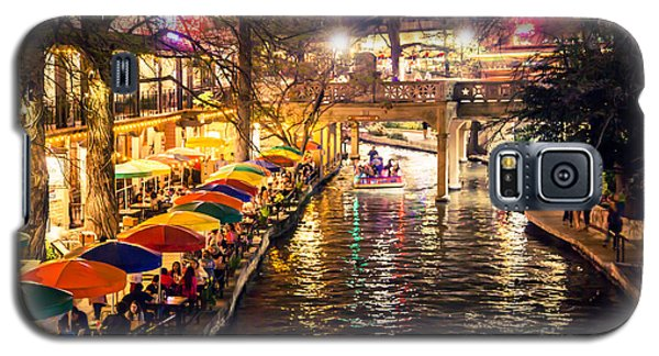 Trip To The Riverwalk Galaxy S5 Case by Iris Greenwell