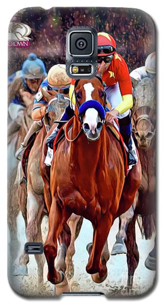 Triple Crown Winner Justify 2 Galaxy S5 Case