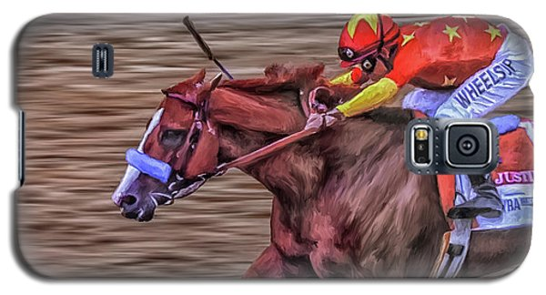 Triple Crown Winner Justify Galaxy S5 Case