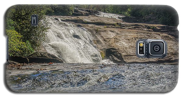 Galaxy S5 Case featuring the photograph Triple Falls Second Tier by Steven Richardson