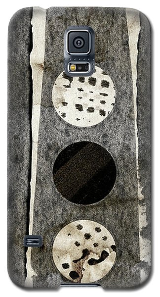 Galaxy S5 Case featuring the photograph Triple Lunacy Abstract 2 by Carol Leigh