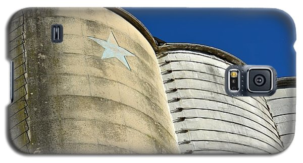 Triple Silo With Star Galaxy S5 Case