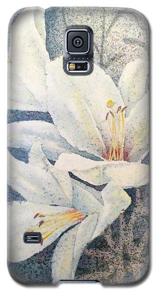 Triplefold White Galaxy S5 Case