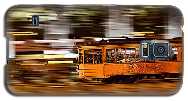 Trolley 1856 On The Move Galaxy S5 Case