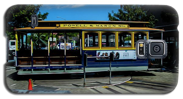 Trolley Car Turn Around Galaxy S5 Case
