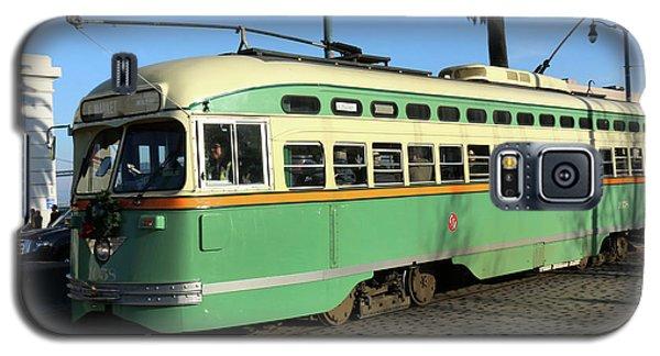 Trolley Number 1058 Galaxy S5 Case by Steven Spak