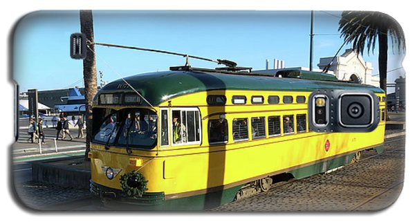 Trolley Number 1071 Galaxy S5 Case by Steven Spak