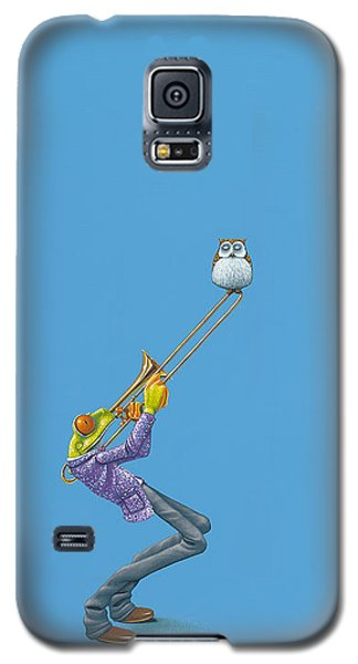 Trombone Galaxy S5 Case by Jasper Oostland