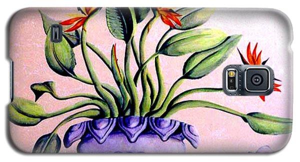 Trompe L'oeil  Birds Of Paradise Galaxy S5 Case