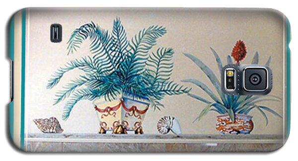 Trompe L'oeil Plants Galaxy S5 Case