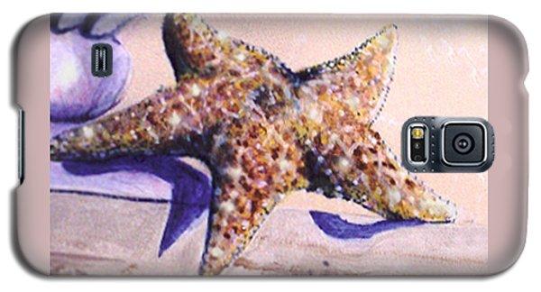 Trompe L'oeil Star Fish Galaxy S5 Case
