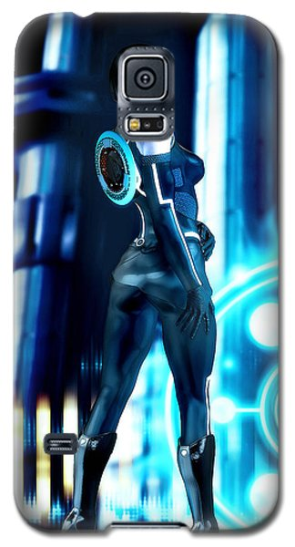 Tron Quorra Galaxy S5 Case