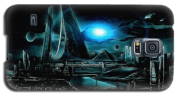 Tron Revisited Galaxy S5 Case by Mario Carini