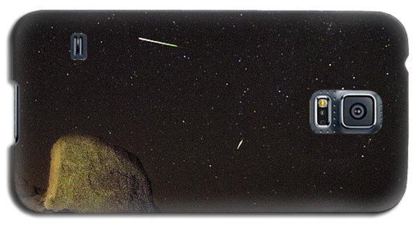 Trona Pinnacles Perseids Meteor Shower Galaxy S5 Case