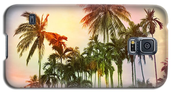 Sunset Galaxy S5 Case - Tropical 11 by Mark Ashkenazi