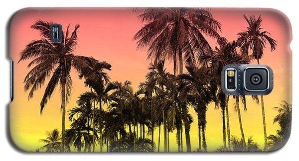 Galaxy S5 Case - Tropical 9 by Mark Ashkenazi