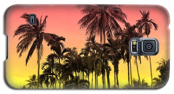 Tropical 9 Galaxy S5 Case by Mark Ashkenazi