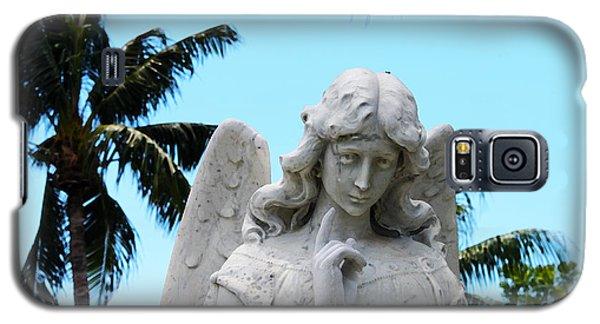 Tropical Angel With Tear Galaxy S5 Case