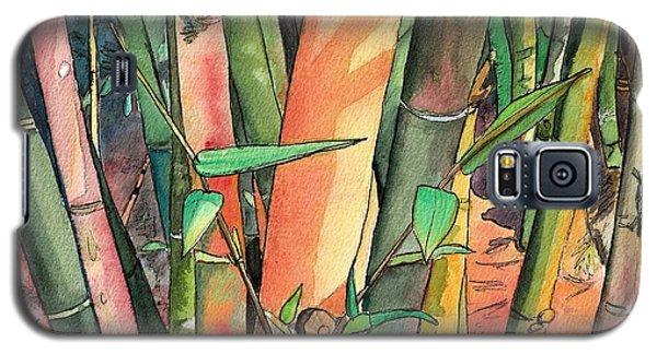 Tropical Bamboo Galaxy S5 Case
