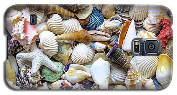 Tropical Beach Seashell Treasures 1529b Galaxy S5 Case