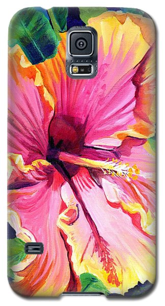 Tropical Bliss Hibiscus Galaxy S5 Case