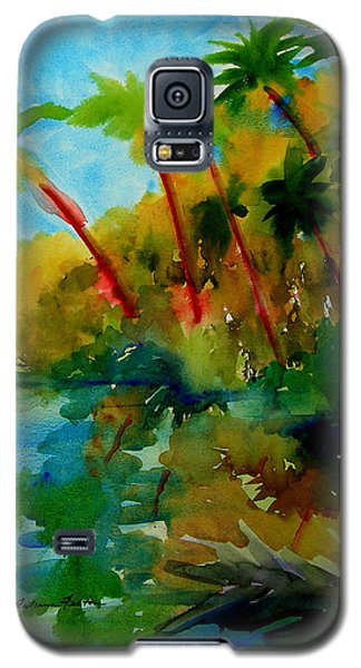 Tropical Canal Galaxy S5 Case
