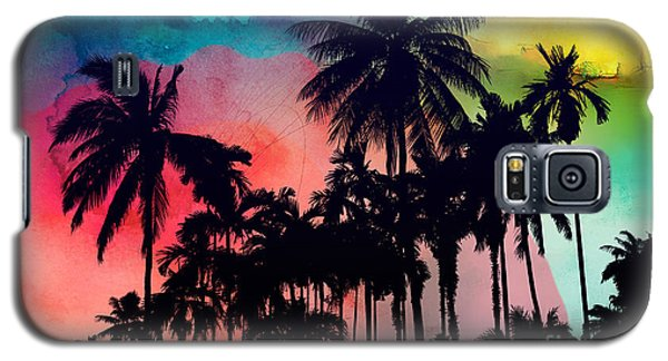 Tropical Colors Galaxy S5 Case by Mark Ashkenazi