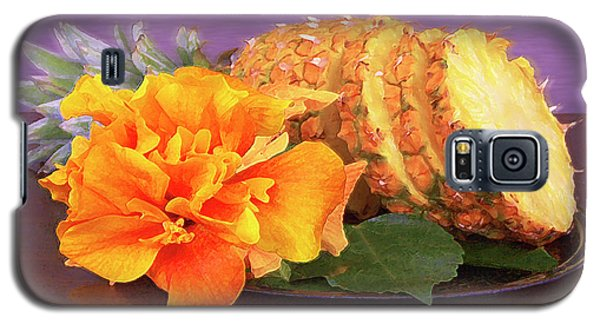 Galaxy S5 Case featuring the photograph Tropical Delight Still Life by Ben and Raisa Gertsberg