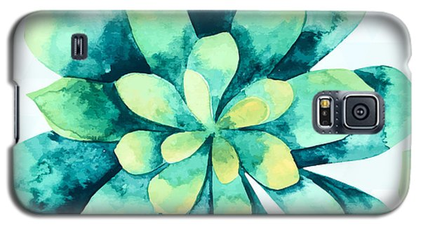 Tropical Flower  Galaxy S5 Case by Mark Ashkenazi