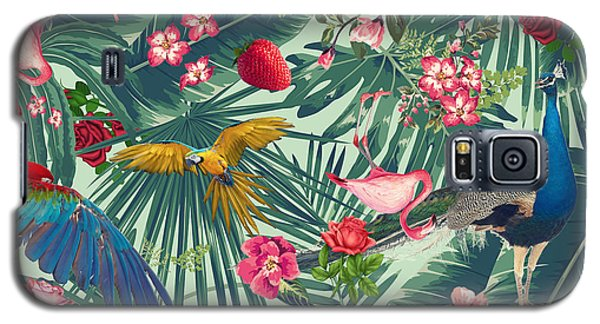 Banana Galaxy S5 Case - Tropical Fun Time  by Mark Ashkenazi