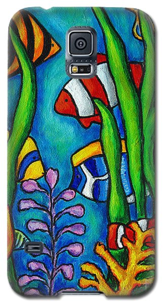 Tropical Gems Galaxy S5 Case