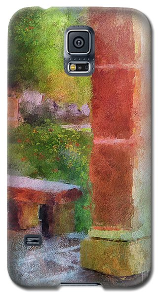 Galaxy S5 Case featuring the digital art Tropical Memories by Lois Bryan