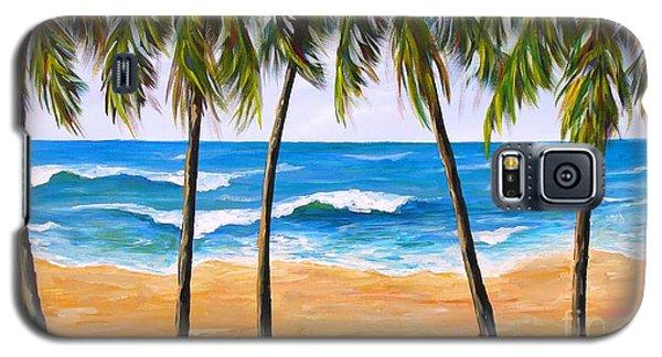 Tropical Palms 2 Galaxy S5 Case