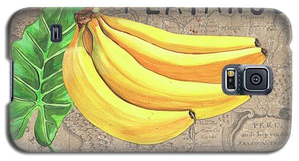 Banana Galaxy S5 Case - Tropical Palms 4 by Debbie DeWitt