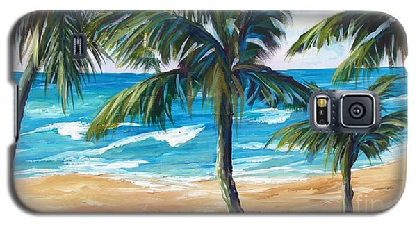 Tropical Palms I Galaxy S5 Case