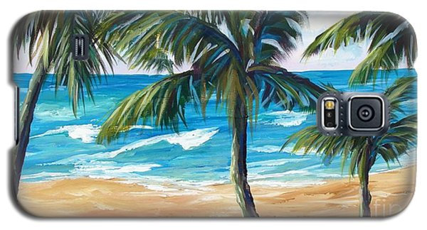 Tropical Palms I Galaxy S5 Case
