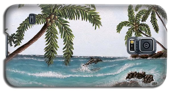 Tropical Paradise Galaxy S5 Case